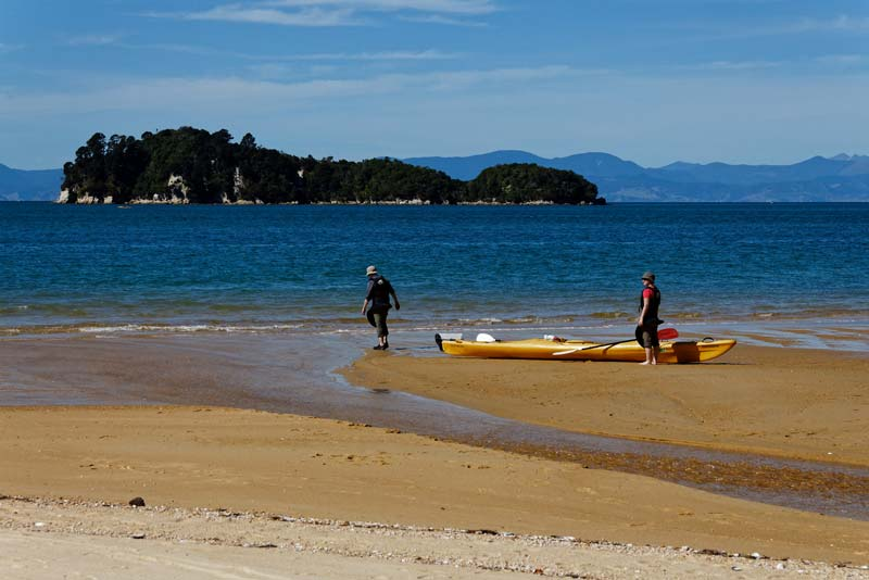 Go sea kayaking in New Zealand's Abel Tasman National Park